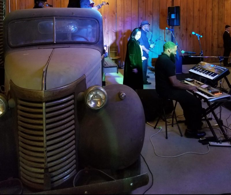 A Wedding…A Band…An Antique Truck